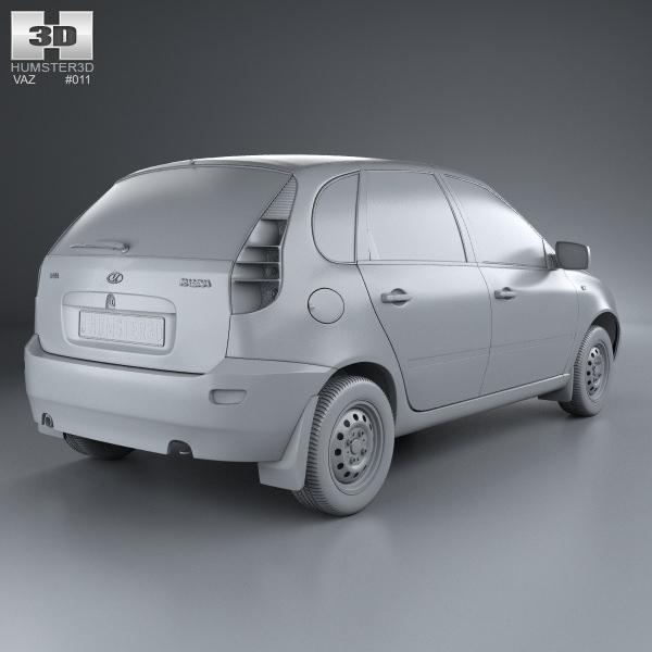 LADA Kalina I 2004 - 2013 Hatchback 5 door #6