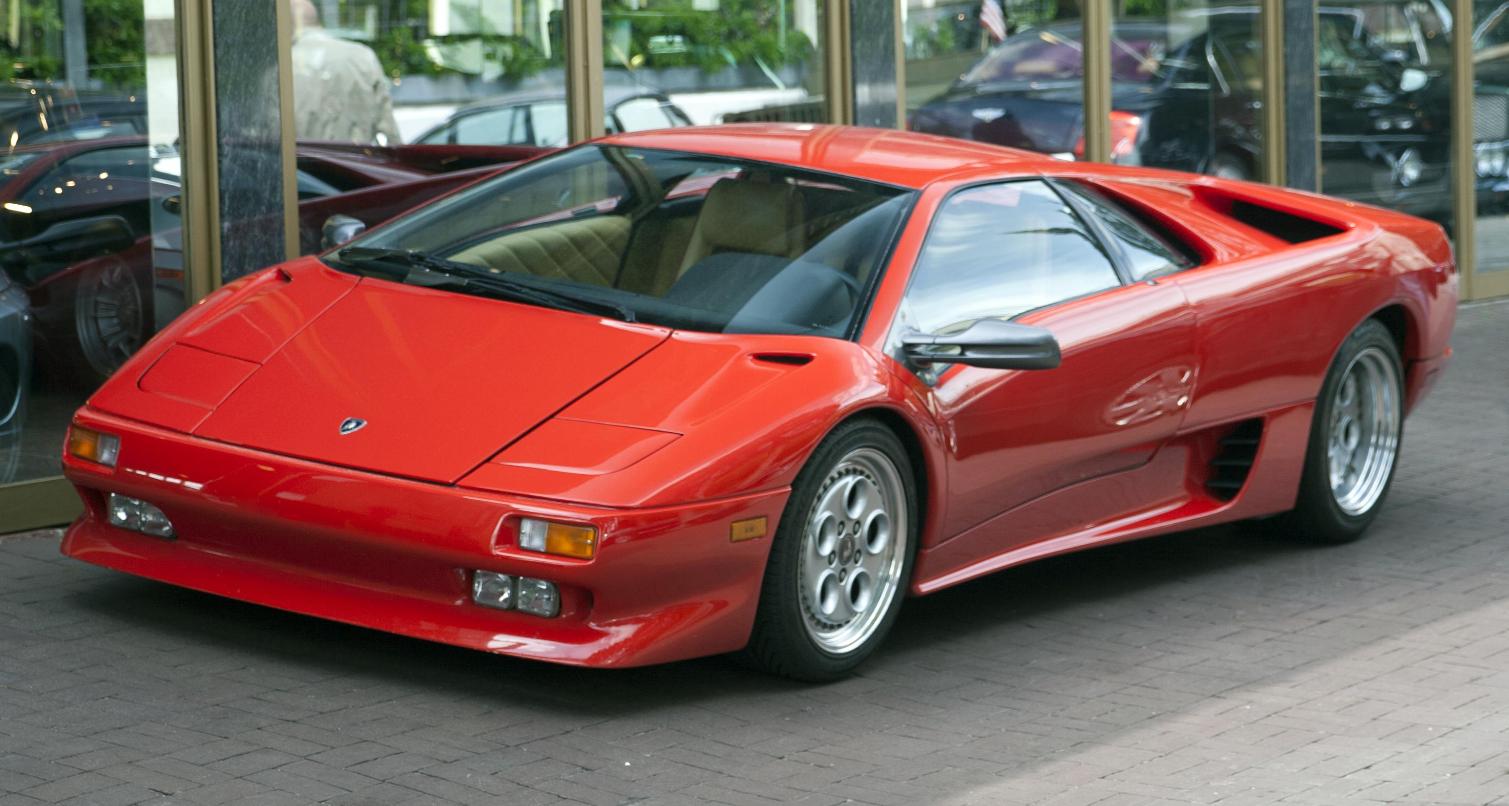 Lamborghini Diablo 1990 - 2001 Coupe #5