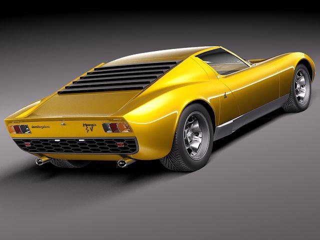Lamborghini Miura 1966 - 1973 Coupe #3