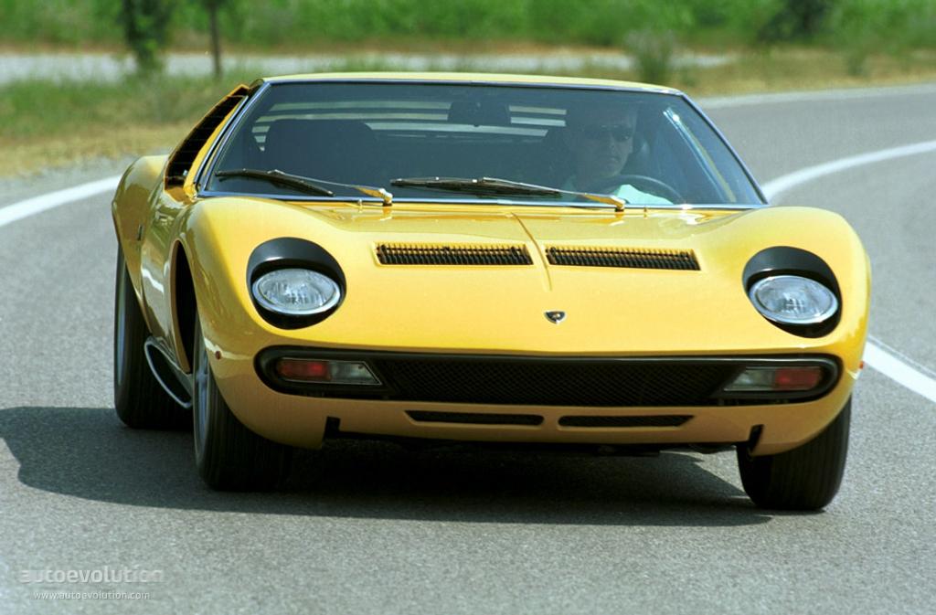Lamborghini Miura 1966 - 1973 Coupe #1