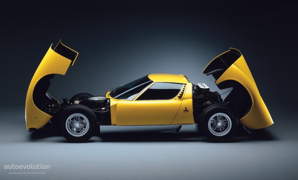 Lamborghini Miura 1966 - 1973 Coupe #5