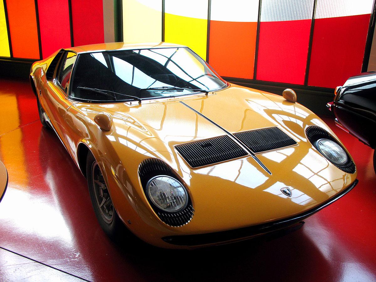 Lamborghini Miura 1966 - 1973 Coupe #8