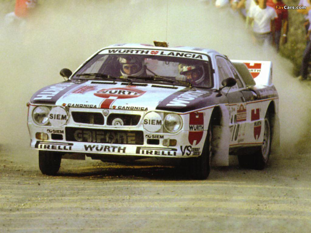 Lancia Rally 037 1982 - 1983 Coupe #3