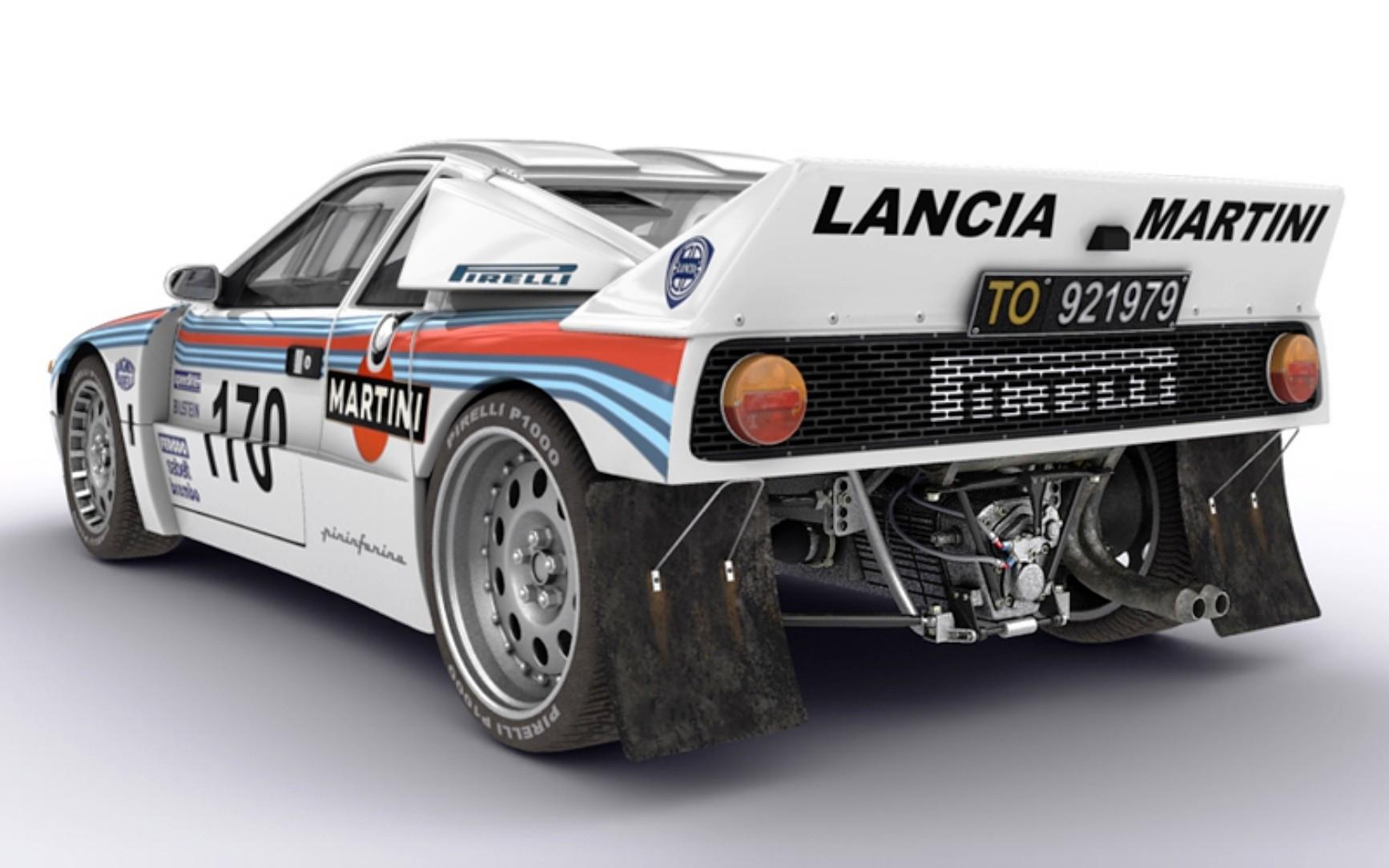 Lancia Rally 037 1982 - 1983 Coupe #1