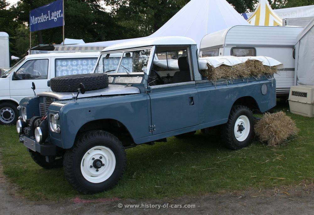 Land Rover Series II 1958 - 1971 Pickup #8