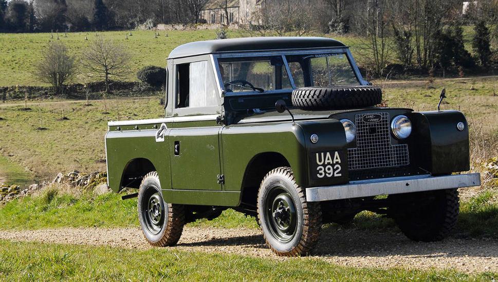 Land Rover Series II 1958 - 1971 Pickup #5