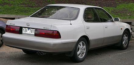 Lexus ES I 1989 - 1991 Sedan #1