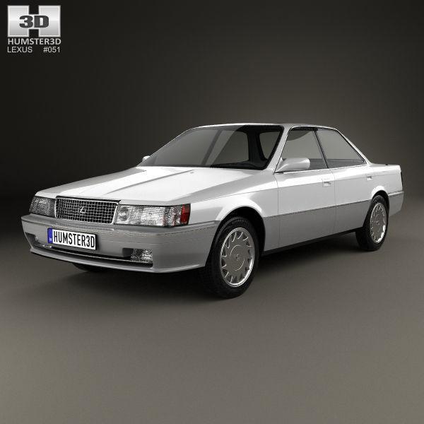 Lexus ES I 1989 - 1991 Sedan #4
