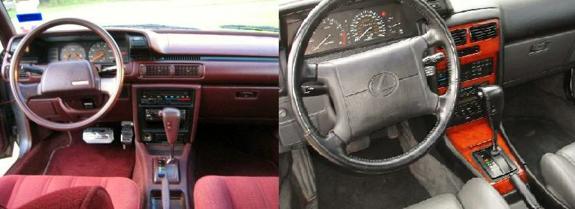 Lexus ES I 1989 - 1991 Sedan #6