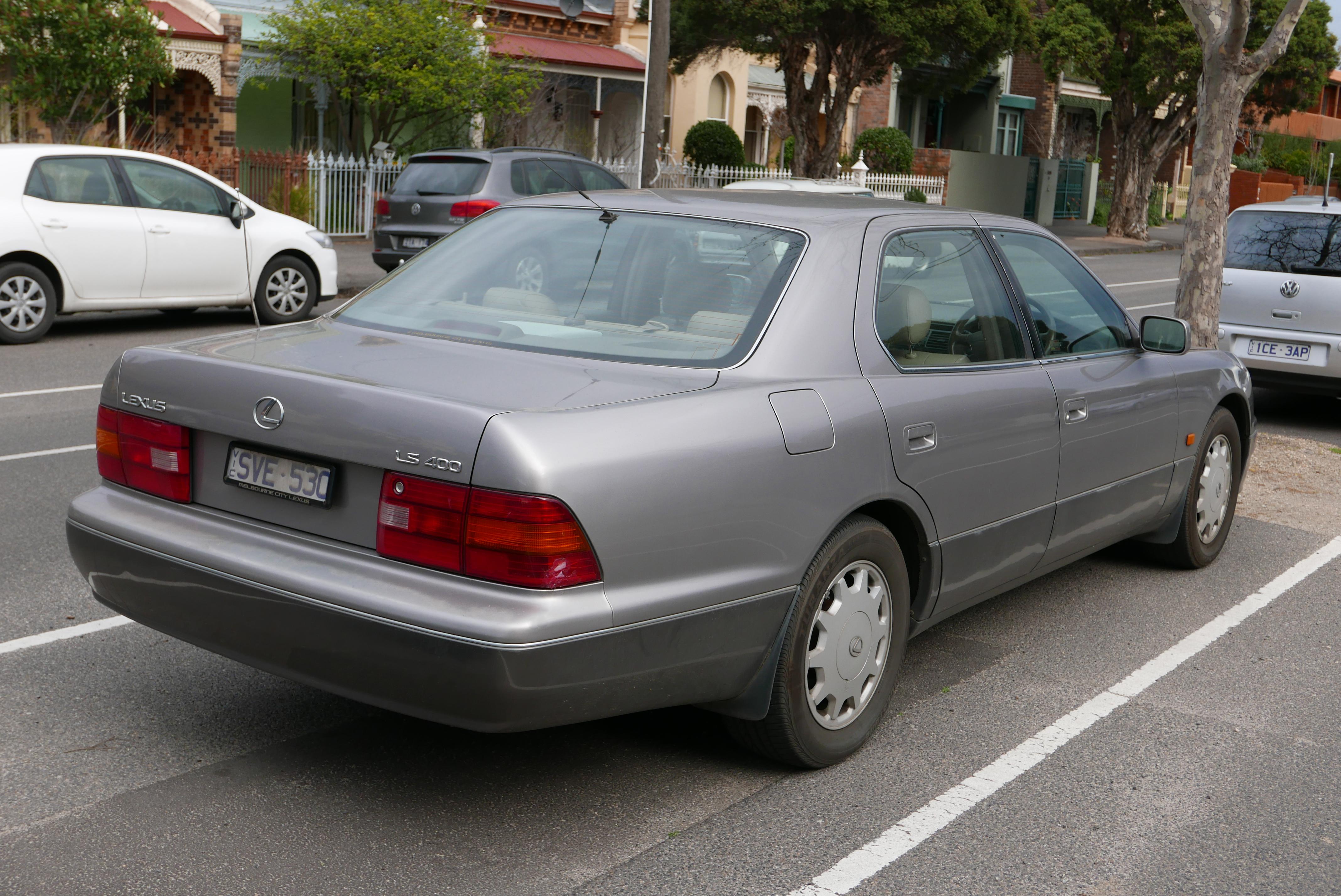 Toyota Celsior III (F30) Restyling 2003 - 2006 Sedan #4