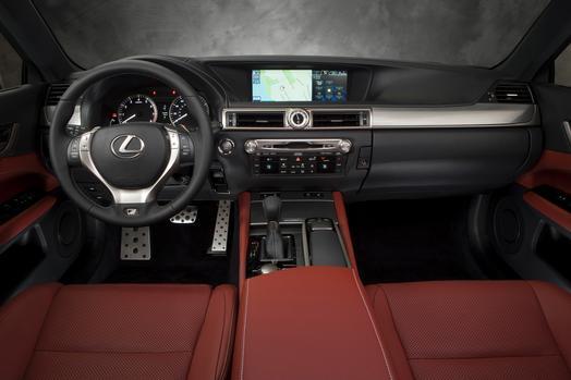 Lexus GS F 2015 - now Sedan #8