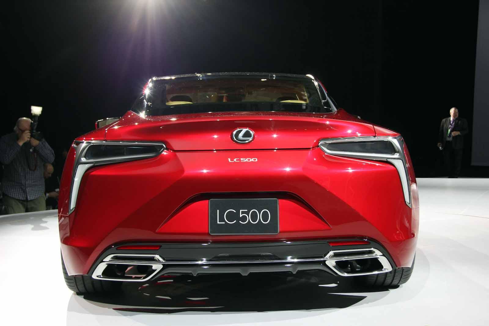 Lexus LC I 2017 - now Coupe #8