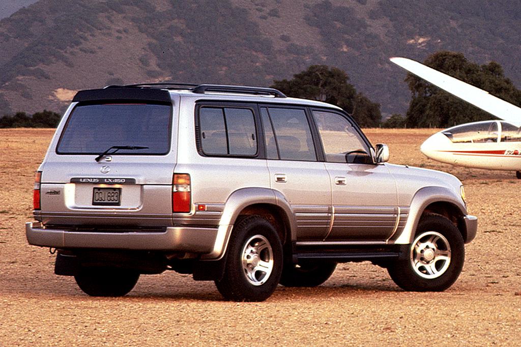 Lexus LX I 1995 - 1997 SUV 5 door #4