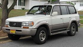 Lexus LX I 1995 - 1997 SUV 5 door #7