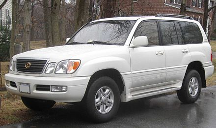 Lexus LX II Restyling 2002 - 2007 SUV 5 door #2