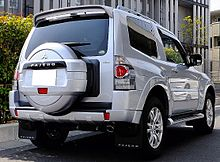 Mitsubishi Pajero IV Restyling 2 2014 - now SUV 5 door #8