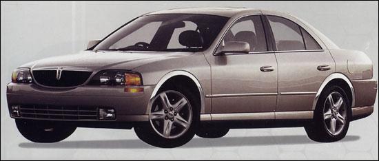 Lincoln LS I Restyling 2003 - 2006 Sedan #8