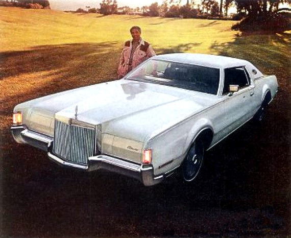 Lincoln Mark IV 1972 - 1976 Coupe #4