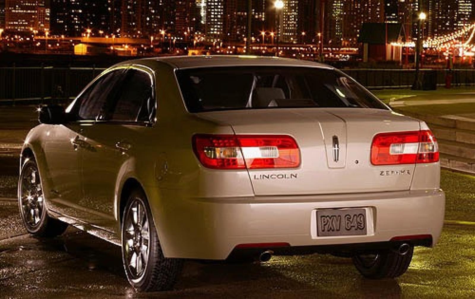 Lincoln MKZ I (Zephyr) 2006 - 2009 Sedan #1