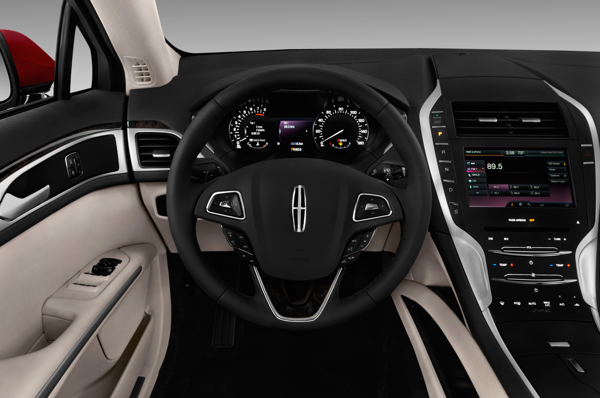 Lincoln MKZ II Restyling 2016 - now Sedan #2