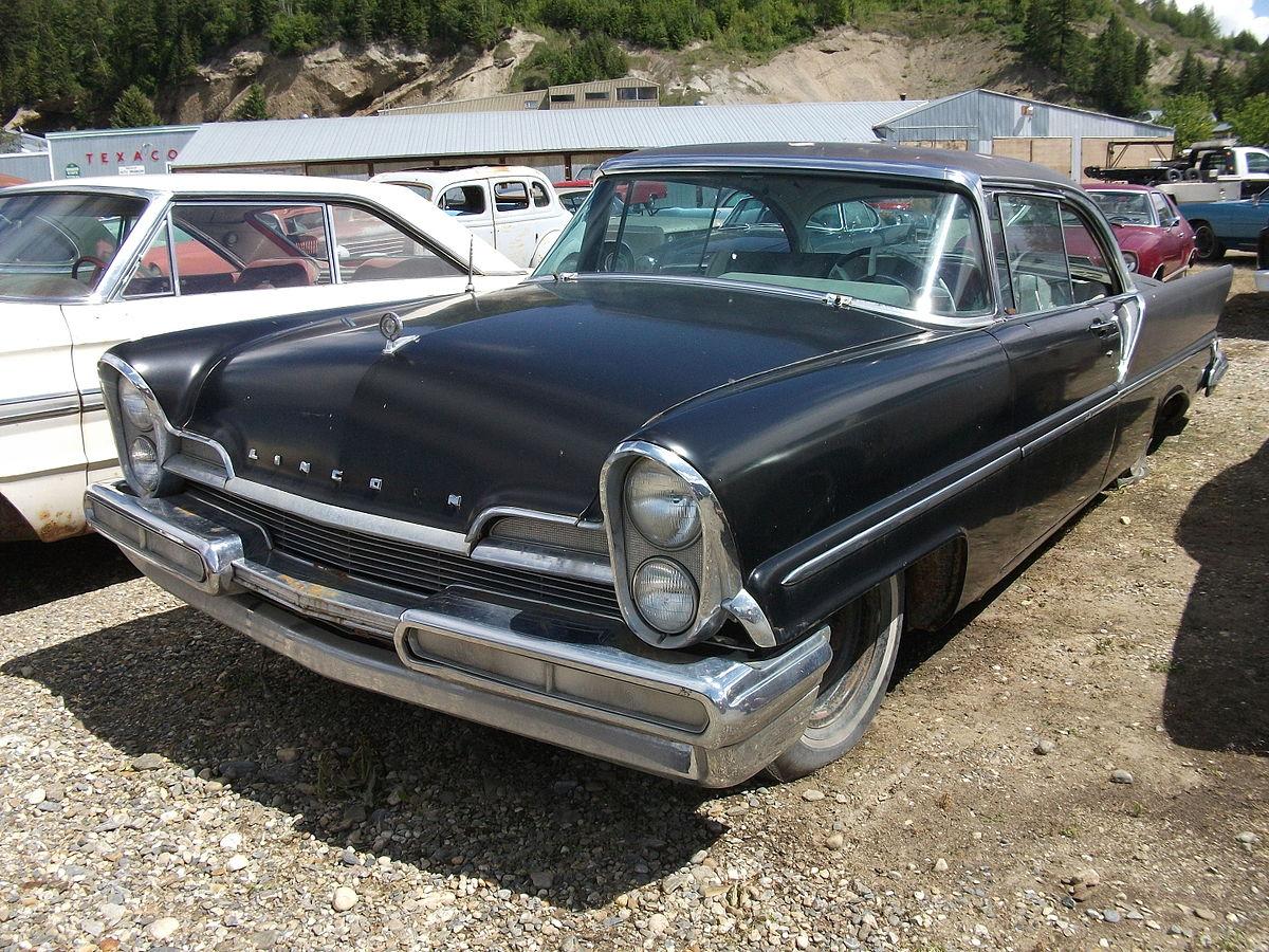 Lincoln Premiere 1955 - 1960 Sedan #7