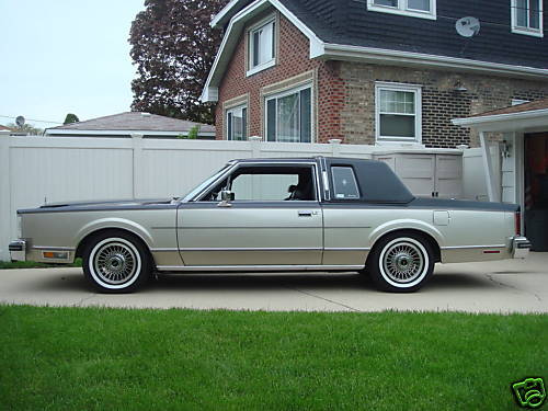 Lincoln Town Car I 1980 - 1989 Coupe #4