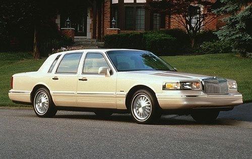 Lincoln Town Car II 1989 - 1997 Sedan #4