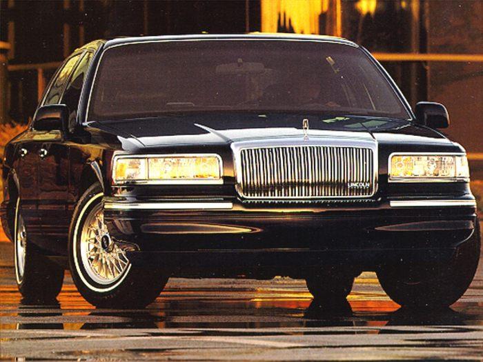 Lincoln Town Car II 1989 - 1997 Sedan #8