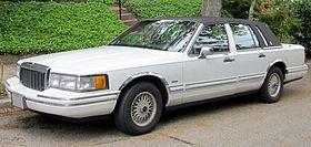 Lincoln Town Car II 1989 - 1997 Sedan #1