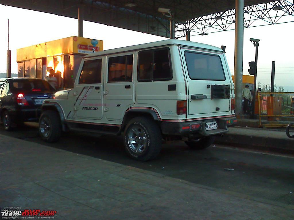 Mahindra Armada 1990 - 2005 SUV 5 door #4