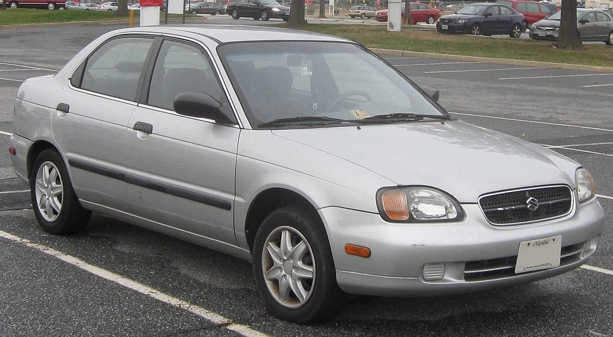 Suzuki Baleno I 1995 - 2002 Sedan #8