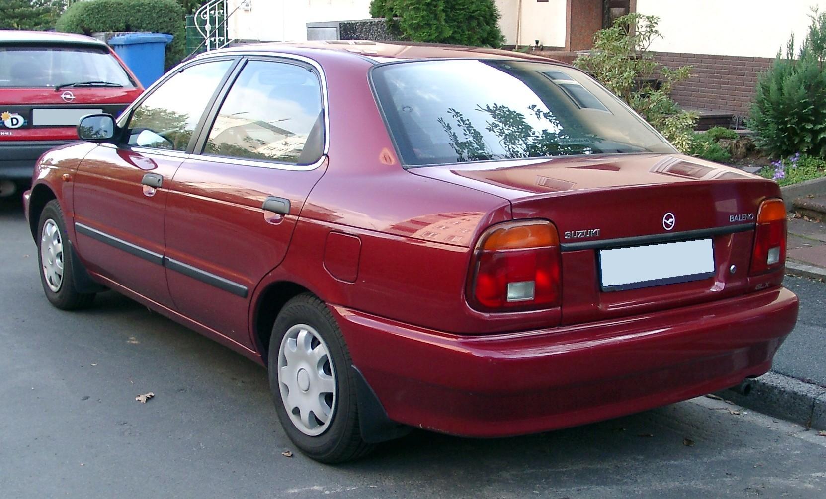 Suzuki Baleno I 1995 - 2002 Sedan #6