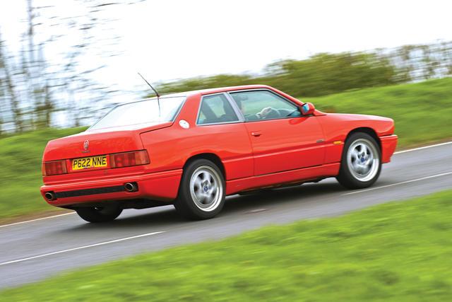 Maserati Ghibli II 1992 - 1998 Coupe :: OUTSTANDING CARS
