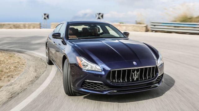 Maserati Quattroporte VI Restyling 2016 - now Sedan #5