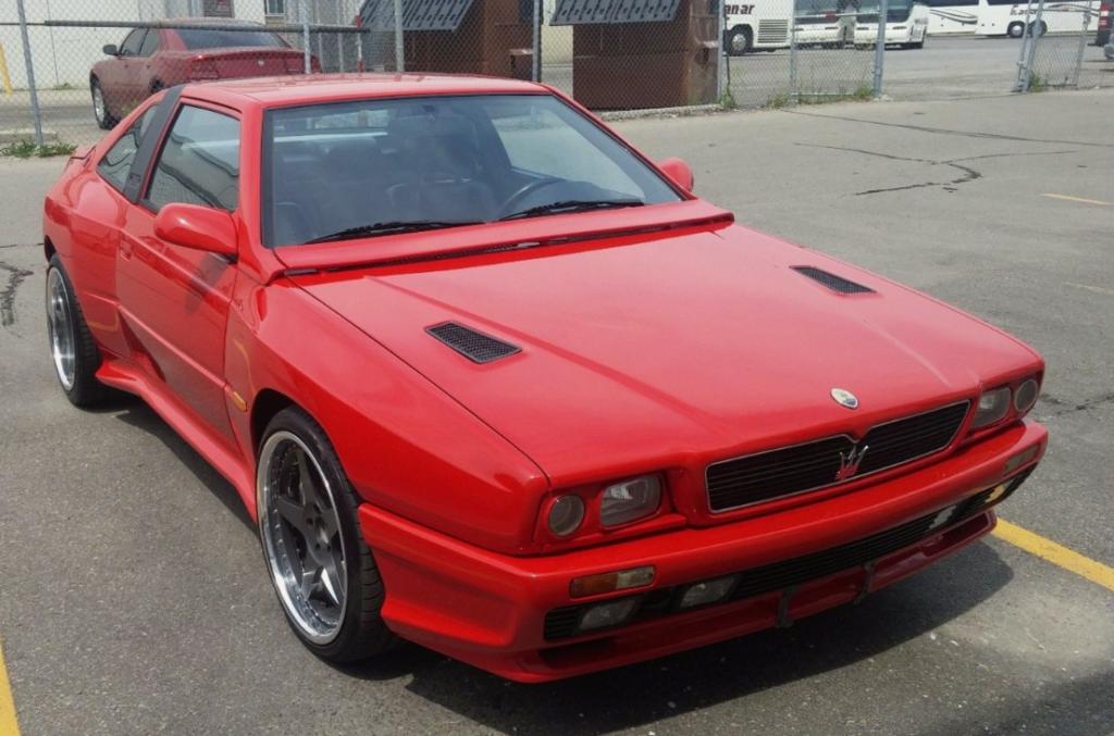 Maserati Shamal 1989 - 1995 Coupe :: OUTSTANDING CARS