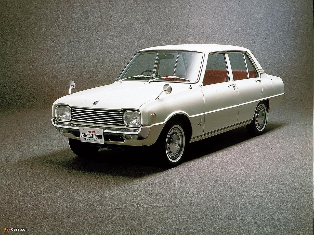 Mazda 1000 1967 - 1977 Sedan #7
