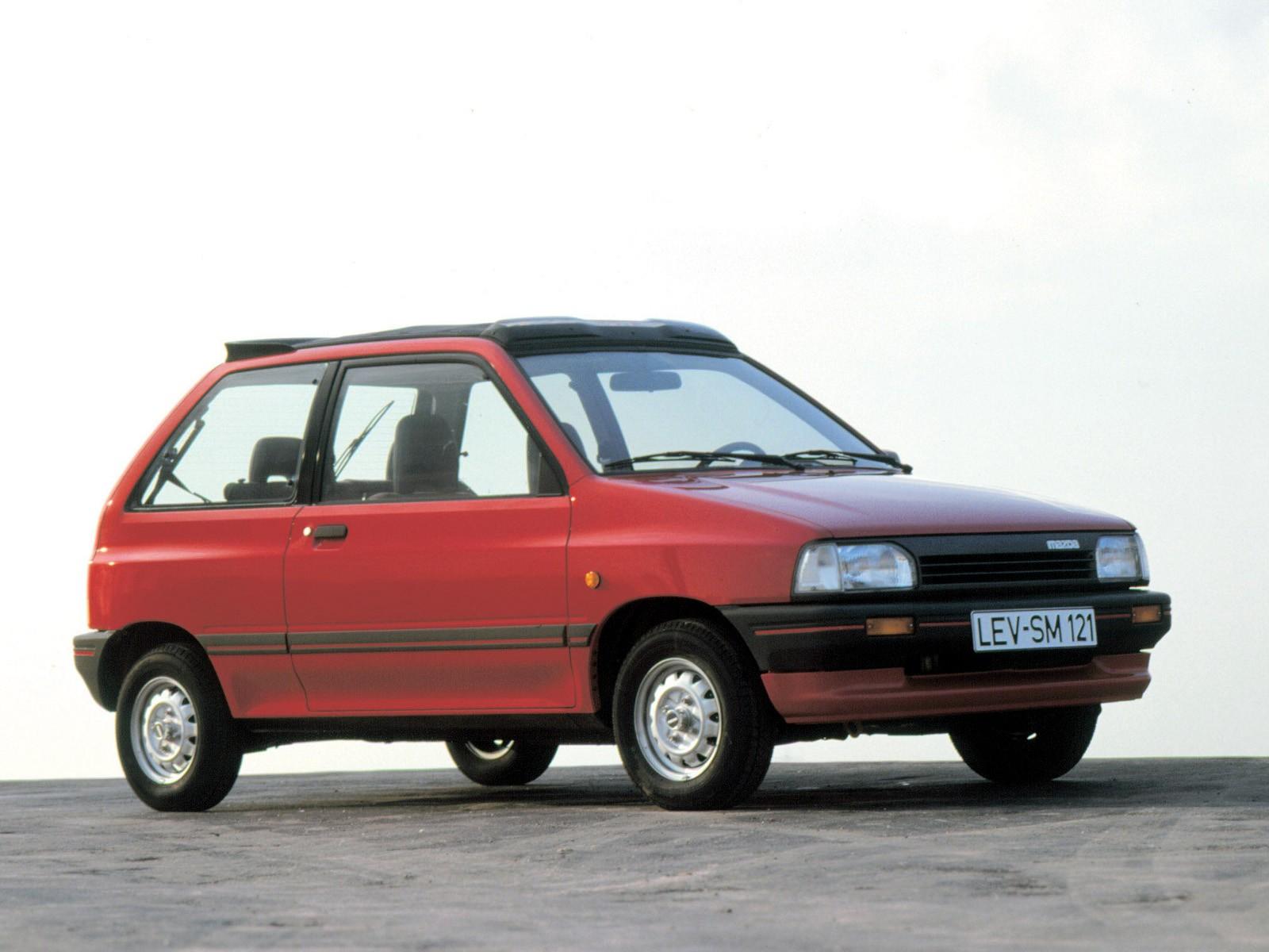 Mazda 121 I 1987 - 1991 Hatchback 3 door #1