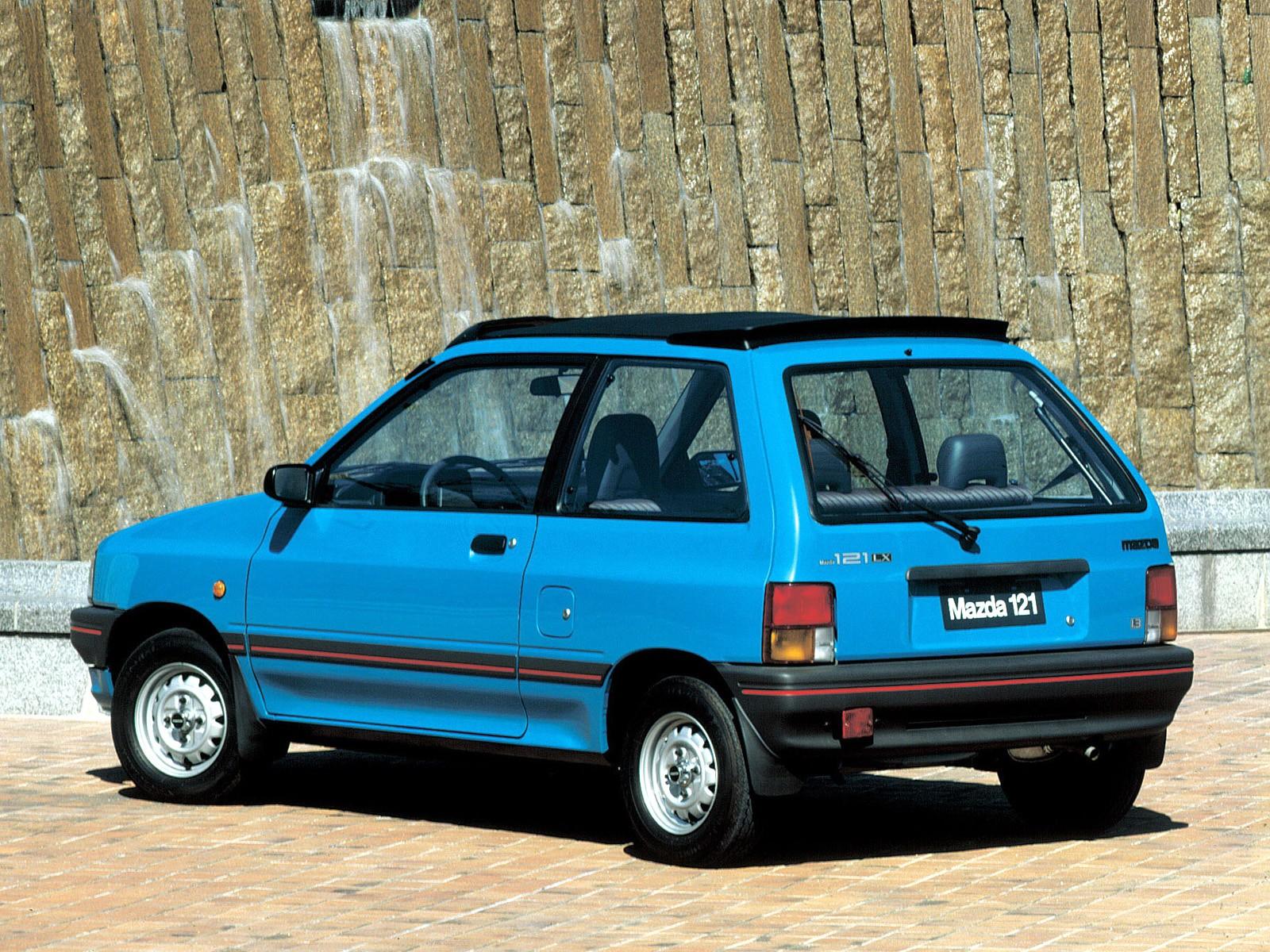 Mazda 121 I 1987 - 1991 Hatchback 3 door #5