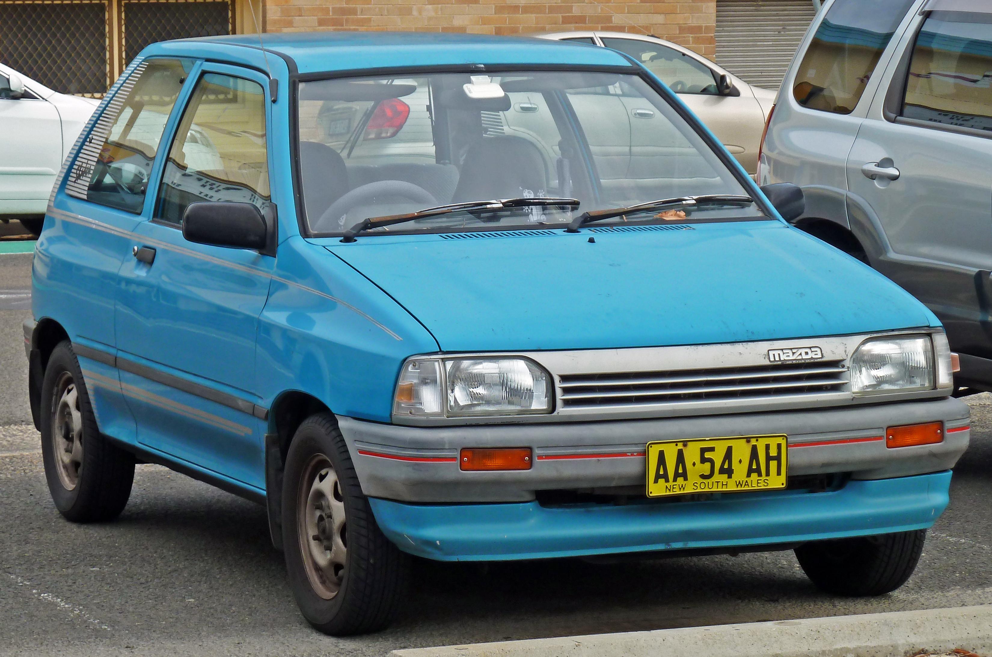 Mazda 121 I 1987 - 1991 Hatchback 3 door #3