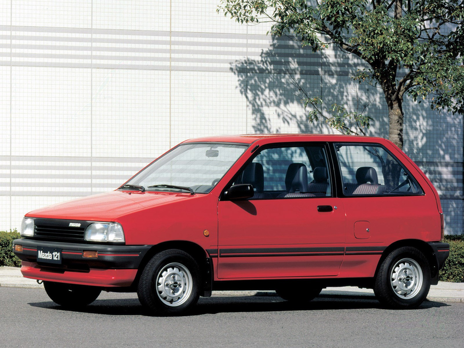 Mazda 121 I 1987 - 1991 Hatchback 3 door #7