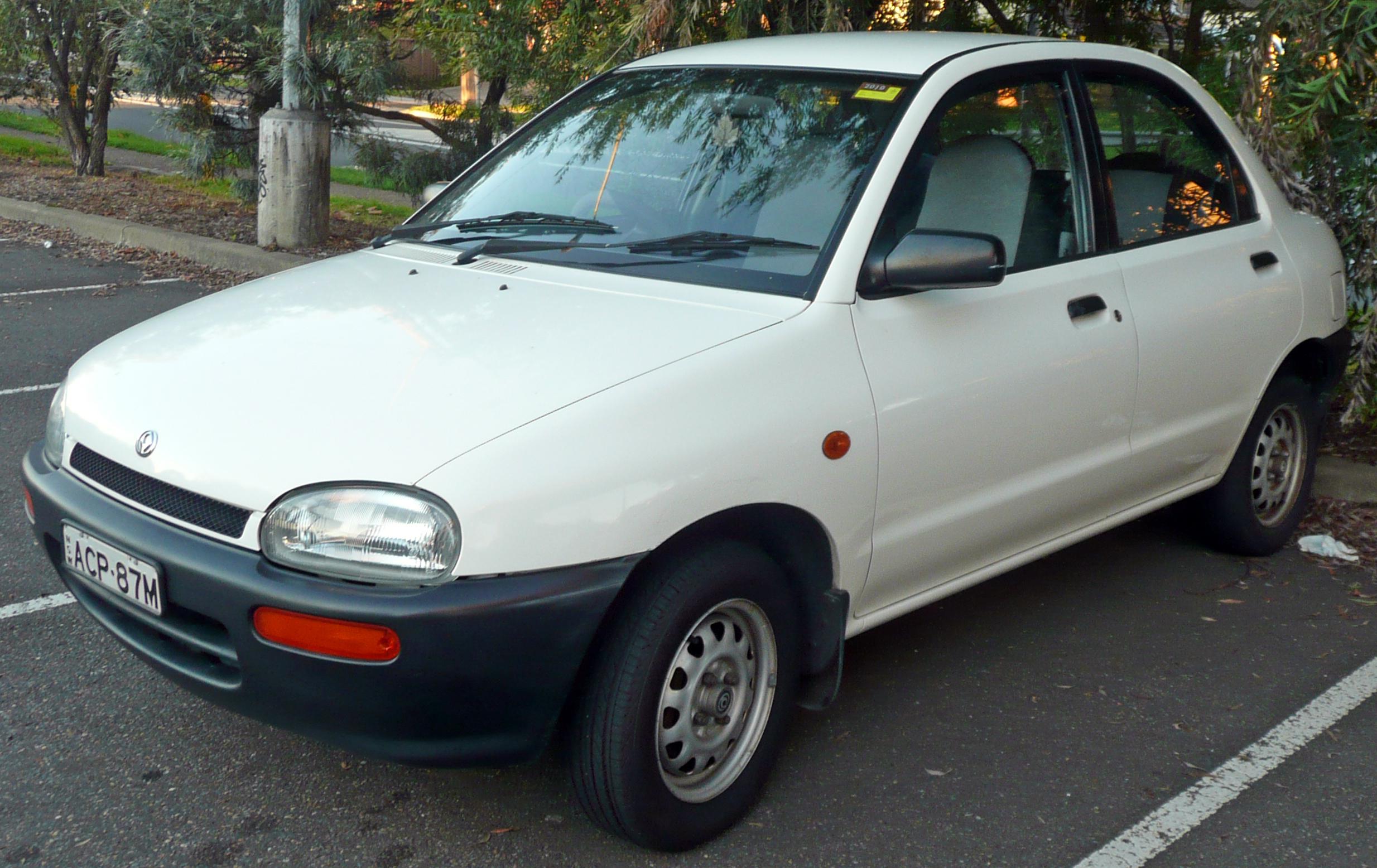 Mazda 121 III 1996 - 2003 Hatchback 5 door #1