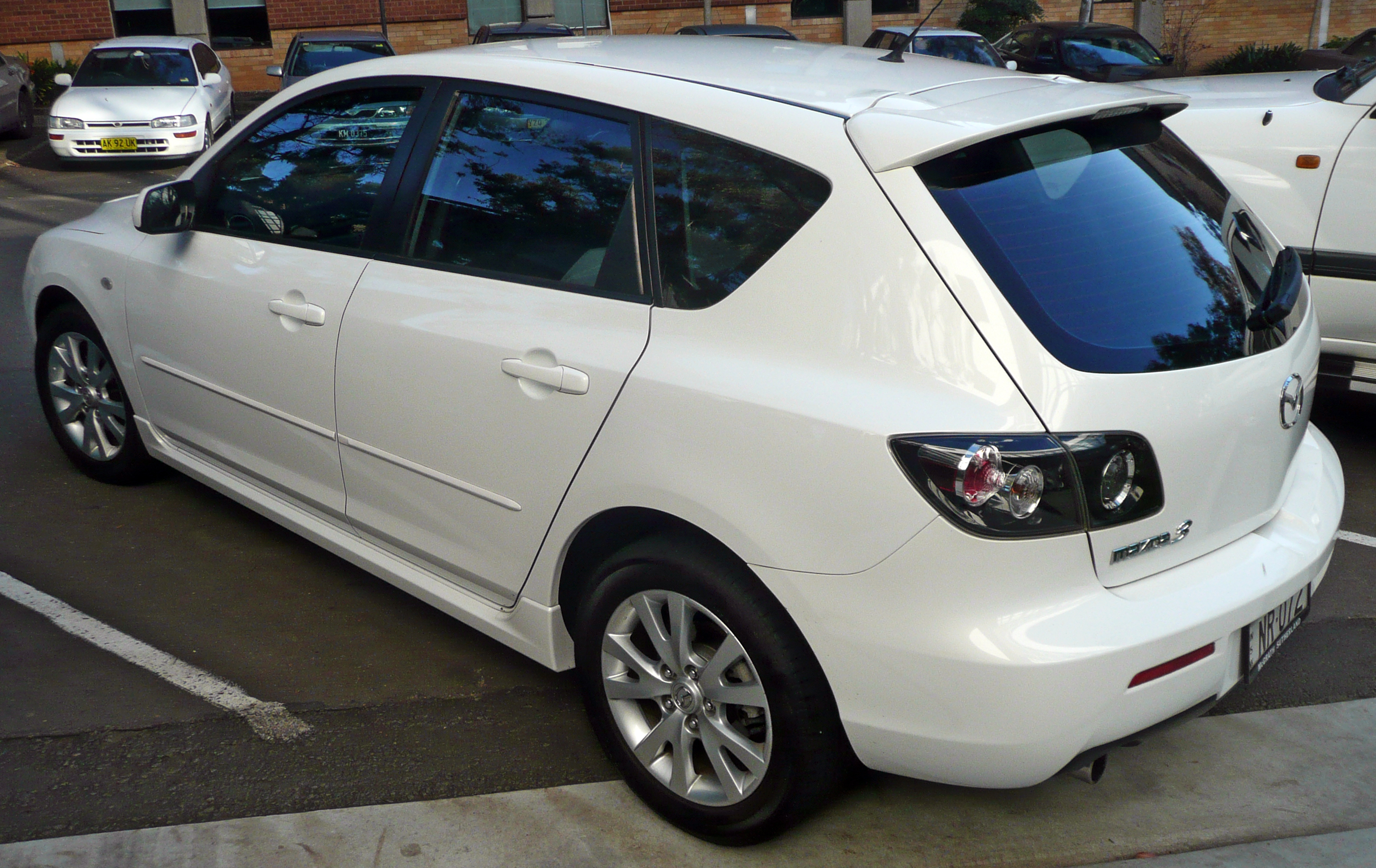 Mazda 3 I (BK) 2003 - 2006 Hatchback 5 door #4