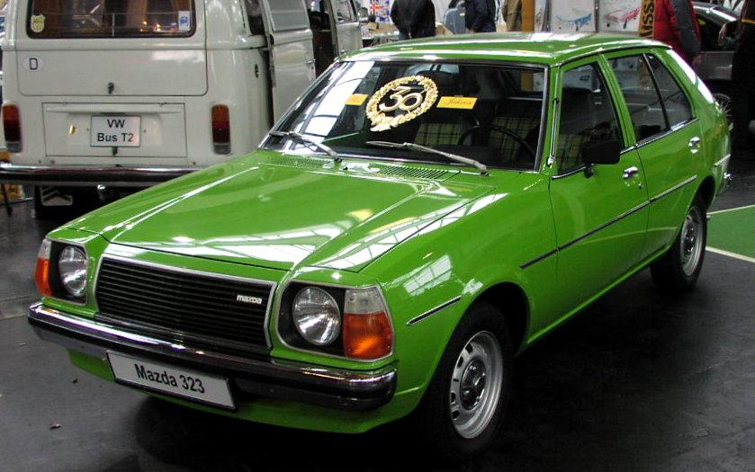 Mazda 323 I (FA) 1977 - 1980 Hatchback 5 door #2