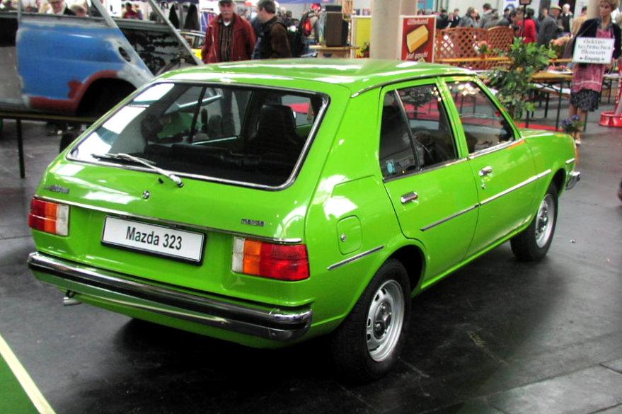 Mazda 323 I (FA) 1977 - 1980 Hatchback 5 door #3