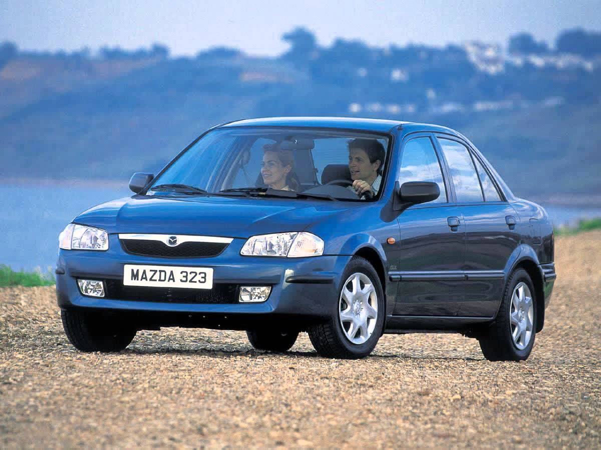 Mazda 323 VI (BJ) Restyling 2000 - 2003 Sedan #7