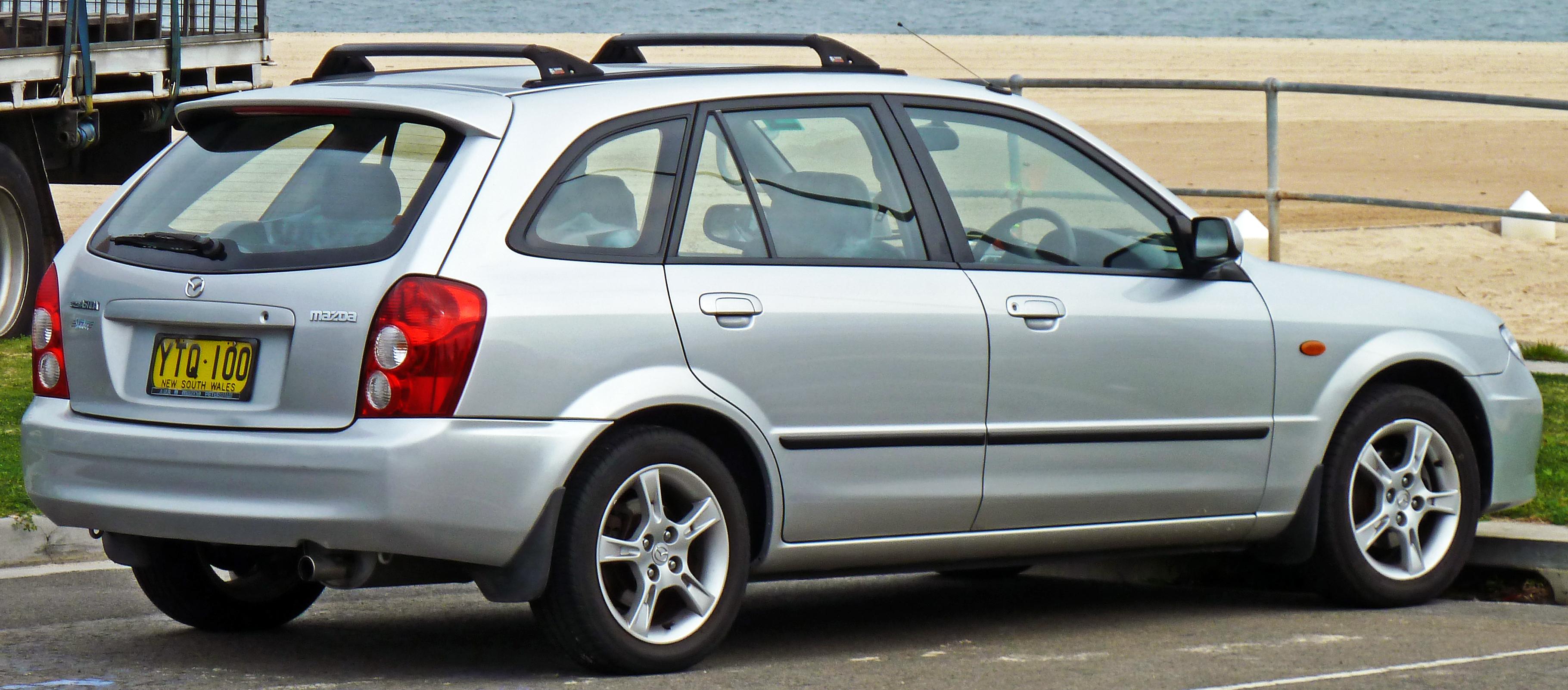 Mazda 323 VI (BJ) Restyling 2000 - 2003 Hatchback 5 door #3