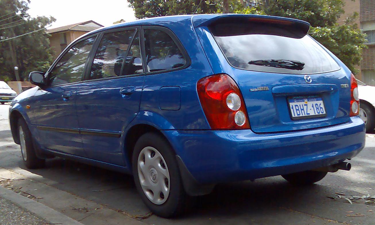 Mazda 323 VI (BJ) Restyling 2000 - 2003 Hatchback 5 door #2