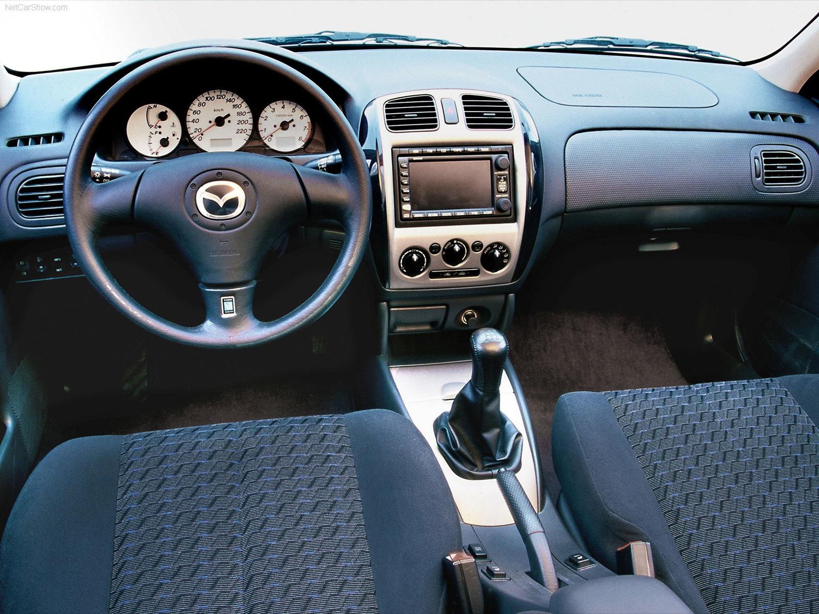 Mazda 323 VI (BJ) Restyling 2000 - 2003 Sedan #4