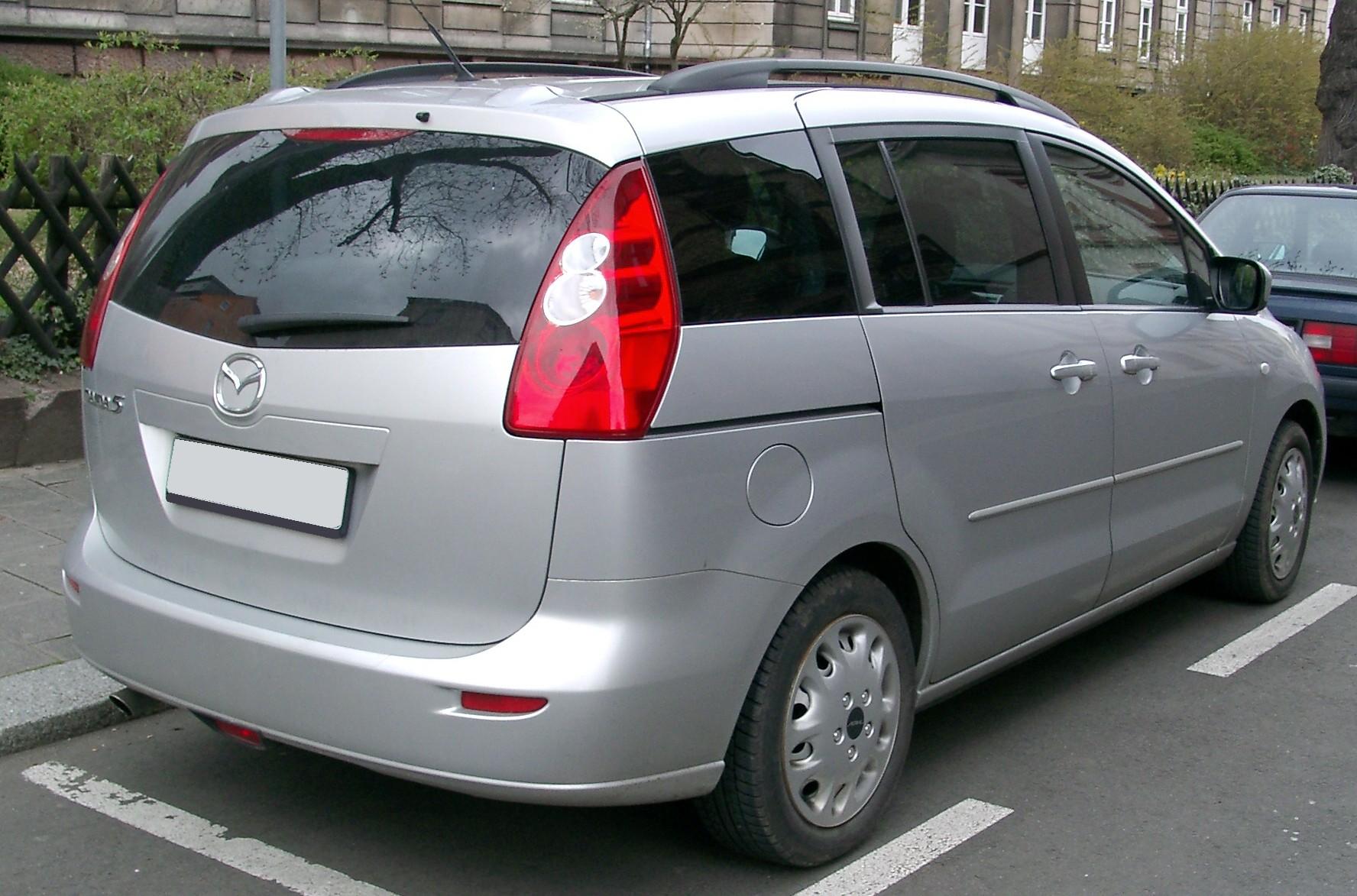 Mazda 5 II (CW) 2010 - 2015 Compact MPV #3