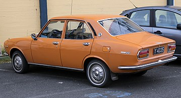 Mazda 616 1970 - 1978 Sedan #4